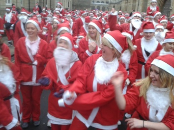 Santa Run Girls!